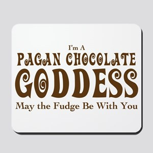 Pagan Chocolate Goddess Mousepad